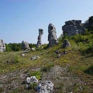 Klinteklinten, Slite, Gotland