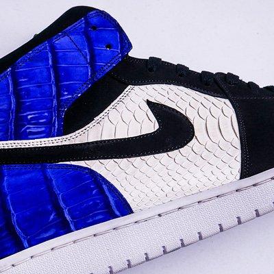 AIR Jordan 1 Custom 1 of 1 by KICKXOTIC