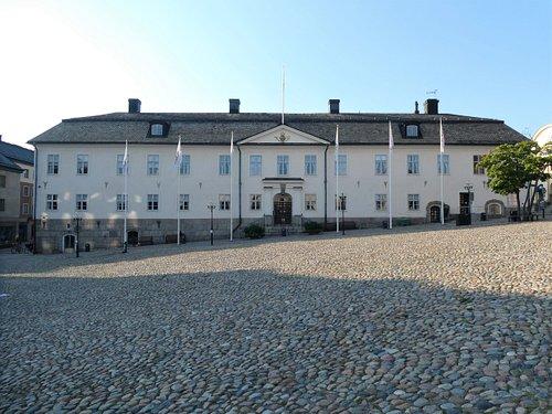 Falu Rådhus vid Stora Torget i Falun