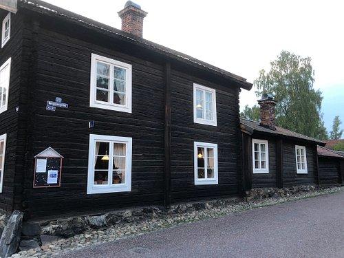 Vass Britas gård i stadsdelen Gamla Herrgården i Falun
