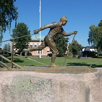 Statyn ''Vasalöparen'' i Mora