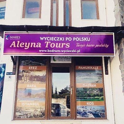 Bodrum Turgutreis siedziba Aleyna Tours