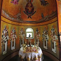 Monastery Apostle Philip - inside the Church (closed part)