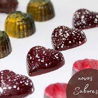 Bombons de Chocolate Artesanais