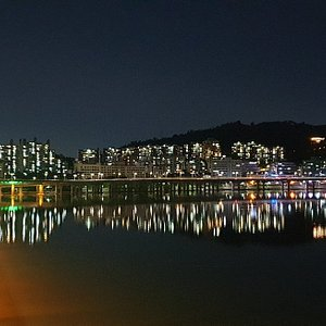 It is a good place to walk with a bicycle, night view, and take pictures. I recommend you to take a trip to the Han River.