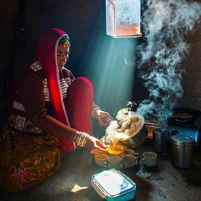 Indian Masala Chai Making