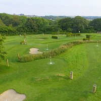 Cornwall FootballGolf Park from the sky