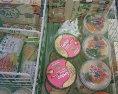 Japanese ice cream