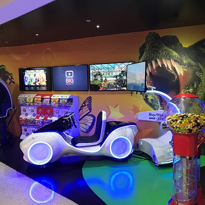 Enjoy VR (Virtual Reality)  games at 9D Action in Darling Harbour
