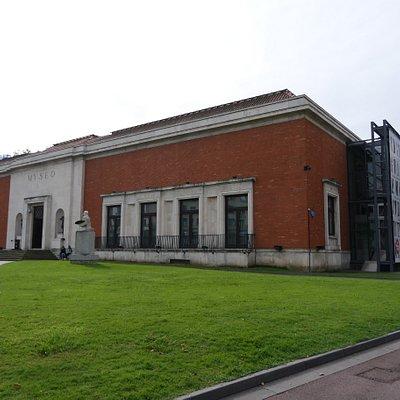 O Museu, vista externa