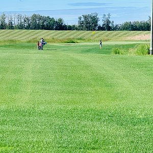 Three holes of golf that are family friendly and fun for all ages!