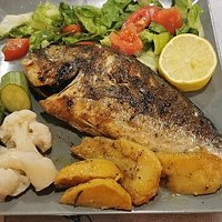Seabream on BBQ