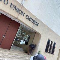 特定の国籍にとらわれない、在日外国人のプロテスタントが、日本語以外の外国語による 合同礼拝を行う教会だそうです。