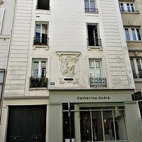 Médaillon en façade
