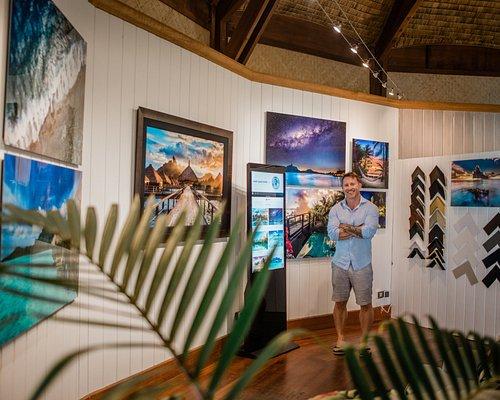 John Kincaid at Kincaid Galleries Bora Bora