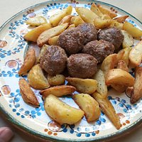 polpette con patate speziate