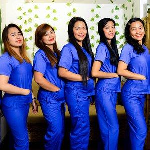 Team Eden's Garden! massage therapist from Philippines.