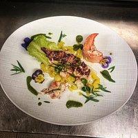 Salade de homard breton, sauce estragon