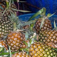 А pineapple. very sweet and delicious