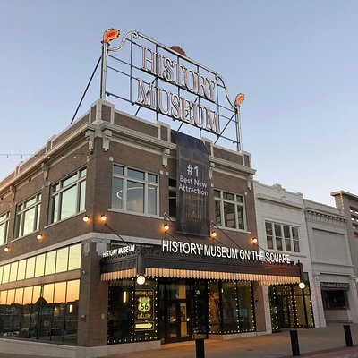 Located on historic Route 66, the new History Museum on the Square was named #1 Best New Attraction in America by the readers of USA Today!