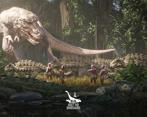 Virtual reality experience Meet the Dinosaurs by DIVR at The Dubai Mall