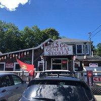 Hulls Cove General Store hides tasty treasures behind this unassuming facade.