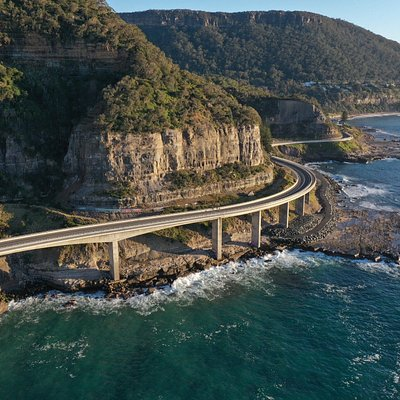 A great drive past the national park, well worth stopping to walk across the bridge.