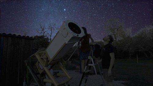Observation au télescope!