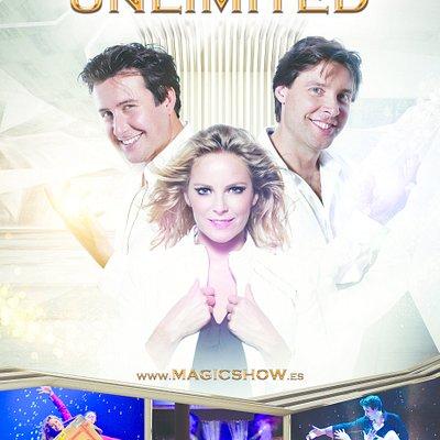 Magic Unlimited es un espectáculo increíble de ilusiones con Oscar, Renzo y Mara. Afincados en la maravillosa Costa del Sol, continuamente inventan y crean nuevos trucos de magia en su teatro 'secreto'.  En contadas ocasiones, abren las puertas  de este íntimo teatro al público para probar sus últimas invenciones, trucos e ilusiones  a gran escala.  Este espectáculo exclusivo de 70 minutos  de Oscar, Renzo y Mara es una experiencia inolvidable para todas las edades.   www.magicshow.es