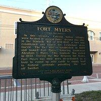 Historical Marker on Monroe St.