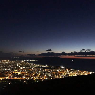 Trapani e le isole Egadi al tramonto 🌅.....