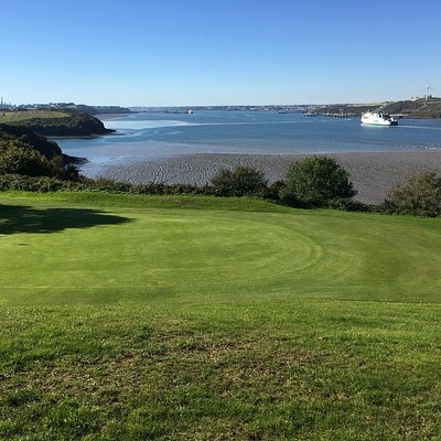 Fantastic Golf at a marvellous course with stunning views.