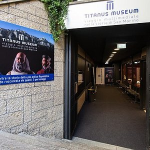 Ingresso del Titanus Museum