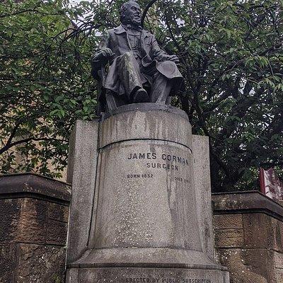 John Gorman Statue