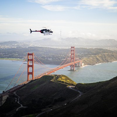 San Francisco Golden Gate Bridge & City Helicopter Tours