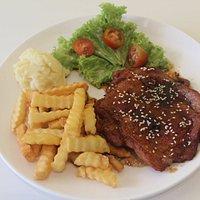 my order teriyaki chicken chop