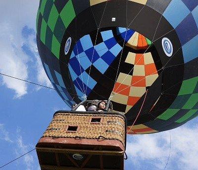 Полет на Воздушном шаре, тепловом Аэростате в Тюмени с Полетели72