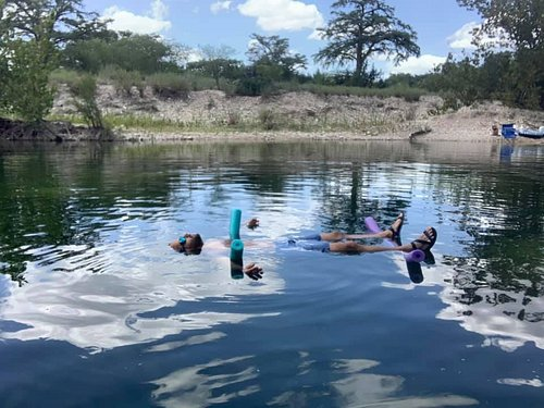 Let your cares float away as you relax in our private stretch of the Frio River. Our Deep Swimming hole is up to 14 feet deep, year-round...during high or low water levels. Relaxxxxxxxxx....
