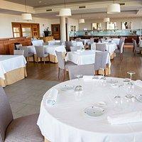 Medidas de protección covid en el restaurante. Reducción de aforo y separación entre mesas