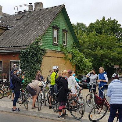 City bike tour Contrasts of Vilnius