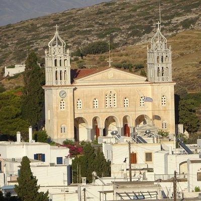 Agia Triada Church of Lefkes - Paros, Greece