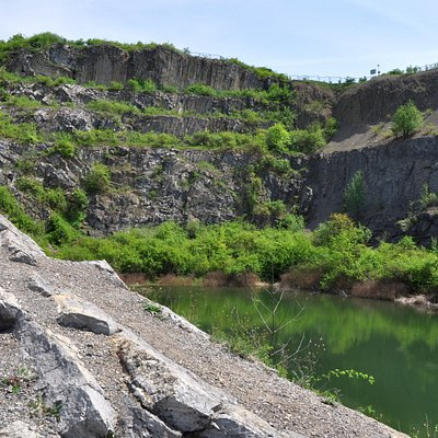 Ślichowice former quarries with nature reserve