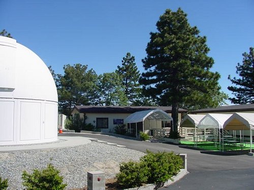 THE MSAS ASTRONOMY VILLAGE OBSERVATORY  & SCIENCE CENTER  is located in a beautiful mountain community called Lake Arrowhead, California