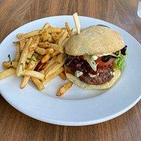 Lamb Burger With Fries