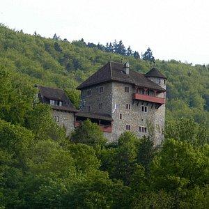 Burg Rotberg à Metzerlen-Mariastein (canton de Soleure)