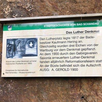 Lutherdenkmal Luterov pomník