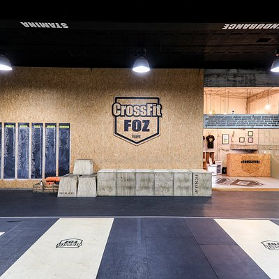Crossfit Foz, Entrance