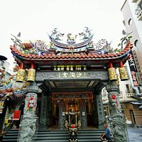 One of the two prince temples originally built in late Ming Dynasty (late 17th century) in Tainan City center.