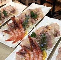 Marinati di pesce, pescato fresco.