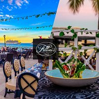 Fellini's Ristorante. Italian restaurant in Cabo San Lucas, overlooking the Sea of Cortez right at Medano Beach